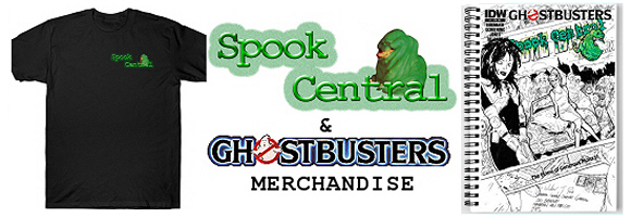 Official Spook Central Merchandise